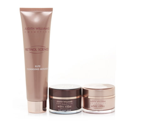Judith Williams 3 Piece Retinol Science Skincare Collection