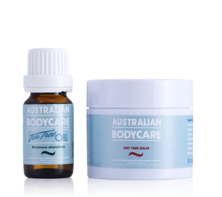 Australian Bodycare Anytime Balm 30ml & Tea Tree Oil 10ml