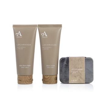 Arran Sense of Scotland 4 Piece Men's Lochranza Grooming Kit - 233867