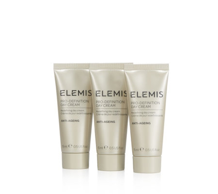 Elemis Pro Definition Day Cream 15ml Trio
