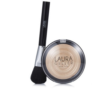 Laura Geller Supersize Baked Gelato Illuminator 10g & Brush - 228968