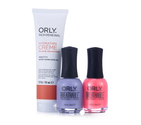 Orly Nails 3 Piece Superfood Collection