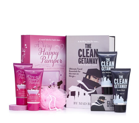Mad Beauty Set of 2 Novel Gift Boxes