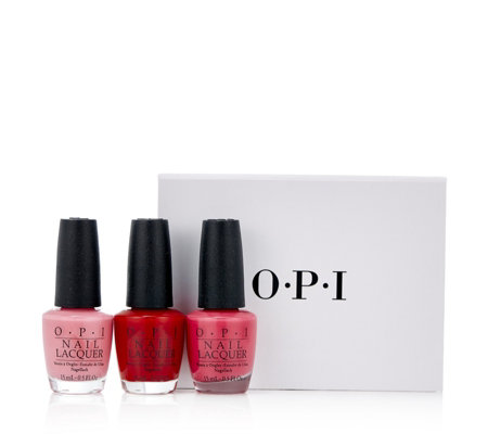 OPI 3 Piece California Dreaming Brights Collection