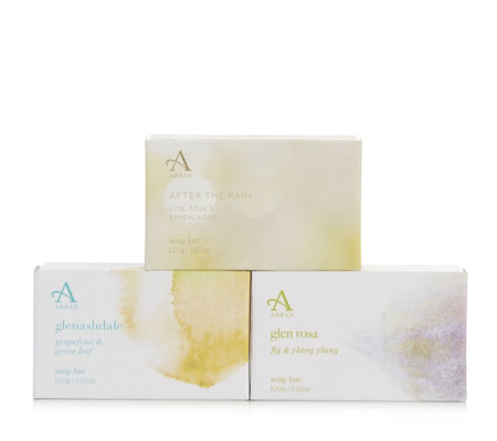 Arran Sense of Scotland 3 Piece Mixed Soap Collection