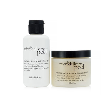 Philosophy 2 Piece Microdelivery Peel Supersize Collection