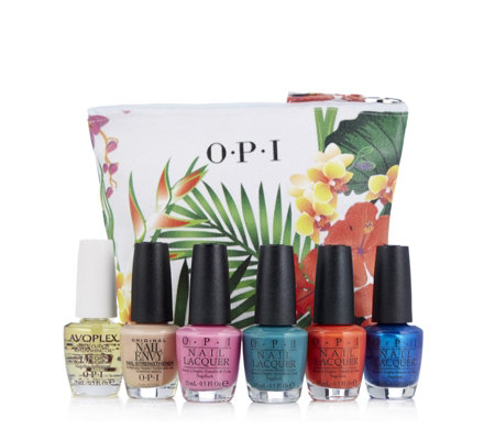 OPI 6 Piece Fiji Colour Collection with Bag