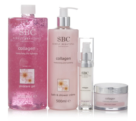 SBC 4 Piece Collagen Top-to-Toe Collection