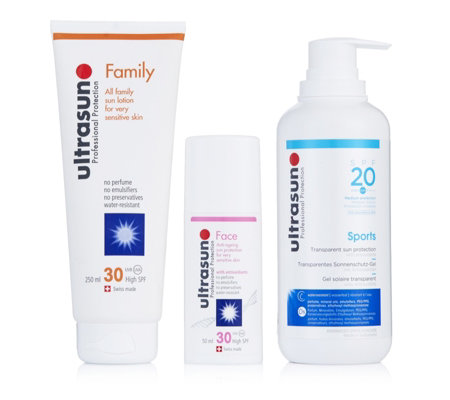 Ultrasun 3 Piece Essential Sun Protection Collection