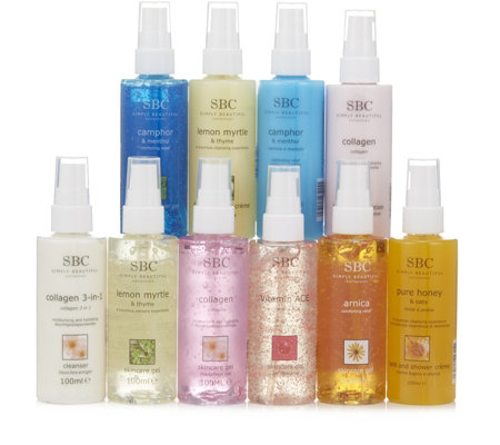 SBC 10 Piece 100ml Gift Collection