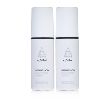 Alpha-H Instant Facial 100ml Duo