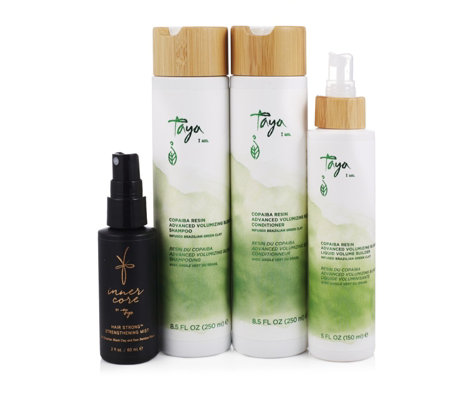 Taya 4 Piece Copaiba Advanced Volumizing Blend Collection