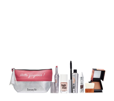 Benefit 5 Piece Essential Make-Up Collection and Bag