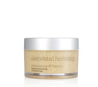Elemental Herbology Macadamia & Papaya Radiance Body Scrub 200ml - 233972