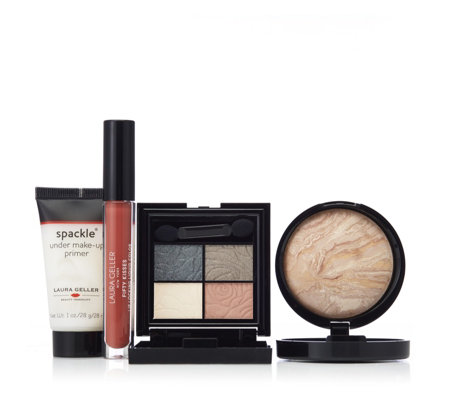 Laura Geller 4 Piece London in Bloom Cosmetic Collection