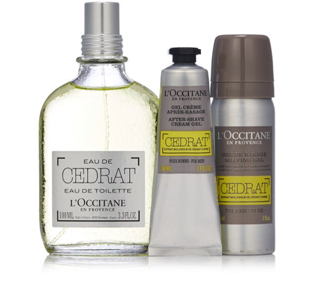L'Occitane Cedrat Grooming Collection