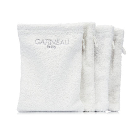 Gatineau Pack of 4 Professional Cleansing Mitts