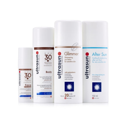 Ultrasun Tan Activate & Protect 4 Piece Collection