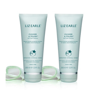 Liz Earle Cleanse and Polish 200ml Duo - 214875