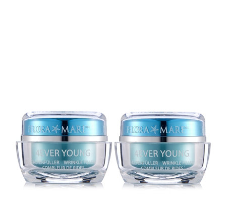 Flora Mare 4Ever Young Wrinkle Filler 30ml Duo
