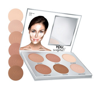 IT Cosmetics You Sculpted! Contouring Palette for Face & Body Palette - 233375