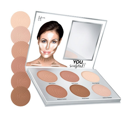 IT Cosmetics You Sculpted! Contouring Palette for Face & Body Palette