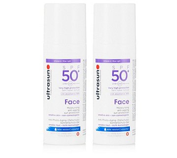 Ultrasun Sun Protection Face SPF50+ 50ml Duo - 201876