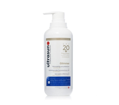 Ultrasun Sun Protection Supersize Glimmer SPF20 400ml