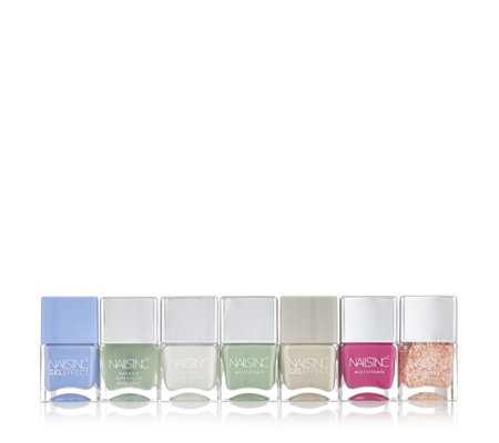 Nails Inc 7 Piece Paint & Protect Collection