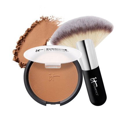 IT Cosmetics Sunshine in a Compact with Brush