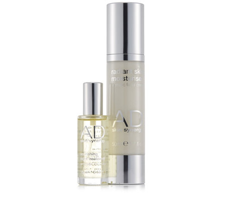 AD Skin Synergy 2 Piece Day Cream & Night Oil Collection