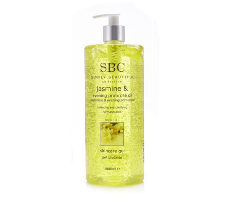 SBC Jasmine & Evening Primrose Oil Gel 1 Litre