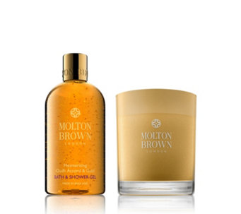 Molton Brown Oud Accord 2 Piece Bath & Candle Collection - 231681