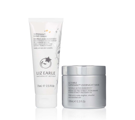 Liz Earle Superskin Overnight Mask with Superskin Hand Serum