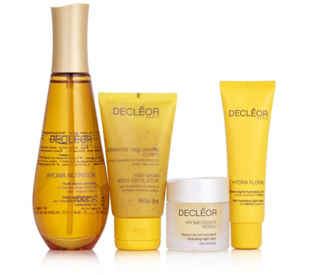 Decleor 4 Piece Nourishing Skincare Collection