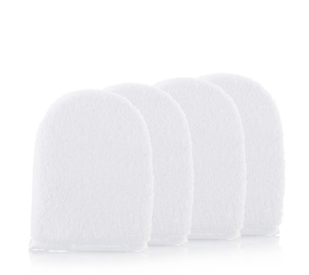 Sarah Chapman Set of 4 Cleansing Mitts