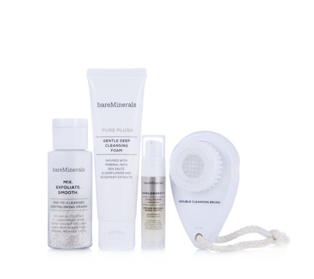 bareMinerals Double Cleansing Method & Brush