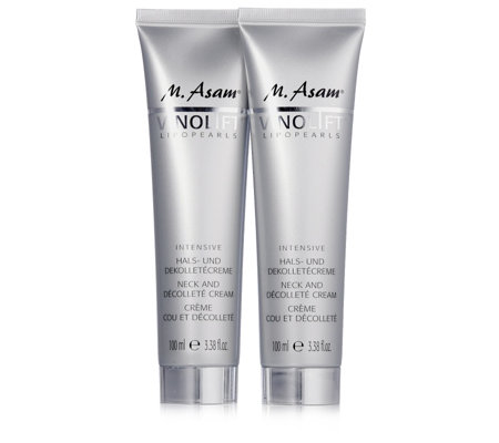 M. Asam Vinolift Neck & Decollete Cream 100ml Duo