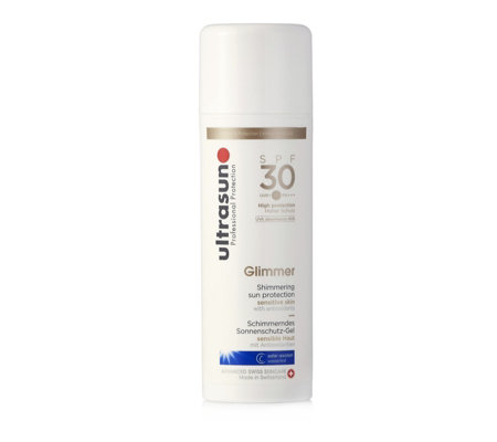Ultrasun Sun Protection Glimmer SPF30 150ml