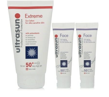 Ultrasun 3 Piece SPF50+ Face & Body Collection