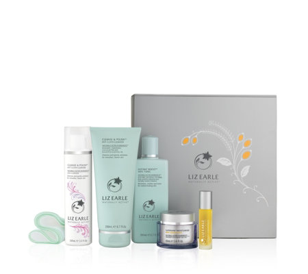 Liz Earle 5 Piece Radiantly Beautiful Superskin Collection