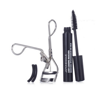 Japonesque Power Curler with 3 Pades & Lash Mascara - 208584