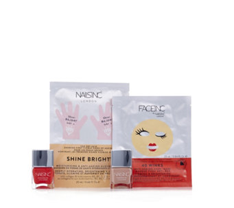 Nails Inc 4 Piece Fast Track Collagen Collection - 231585