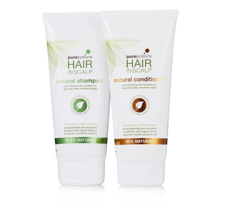 Pure Potions 2 Piece Shampoo & Conditioner Set 200ml