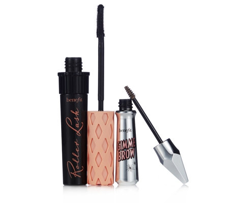 Benefit 2 Piece Gimme Brow & Roller Lash Make-up Collection - QVC UK