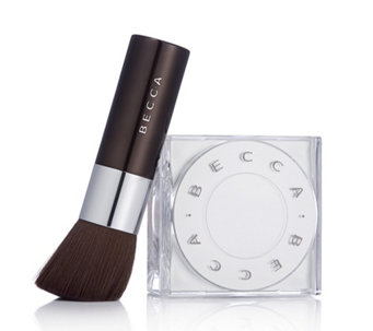 BECCA 2 Piece Soft Focus Blurring Powder & Kabuki Brush - 232286