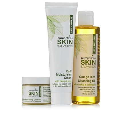 Pure Potions 3 Piece Skin Saviours Collection