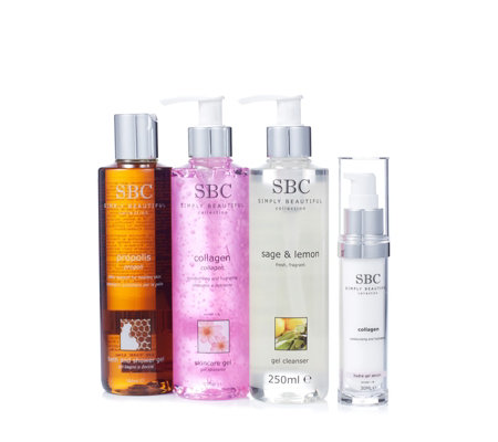 SBC 4 Piece Face & Body Skincare Collection