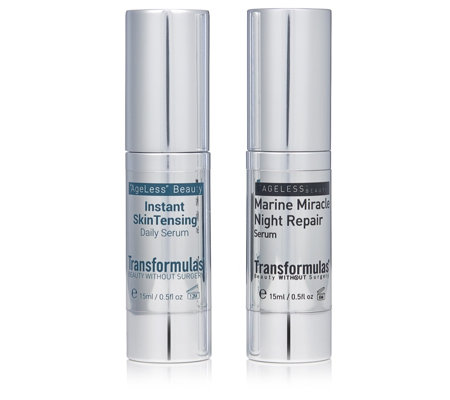 Transformulas Instant Skin Tensing & Night Repair Serum Collection
