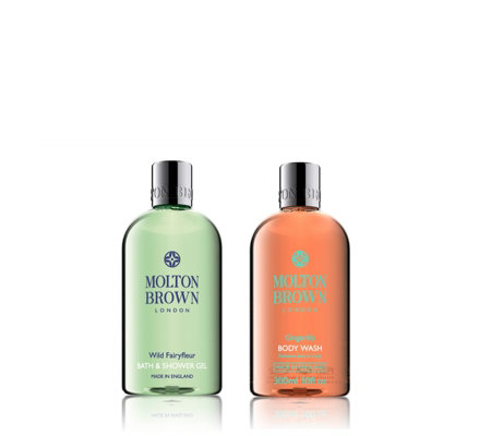Molton Brown Gingerlilly & Wild Fairyfleur Body Wash Duo